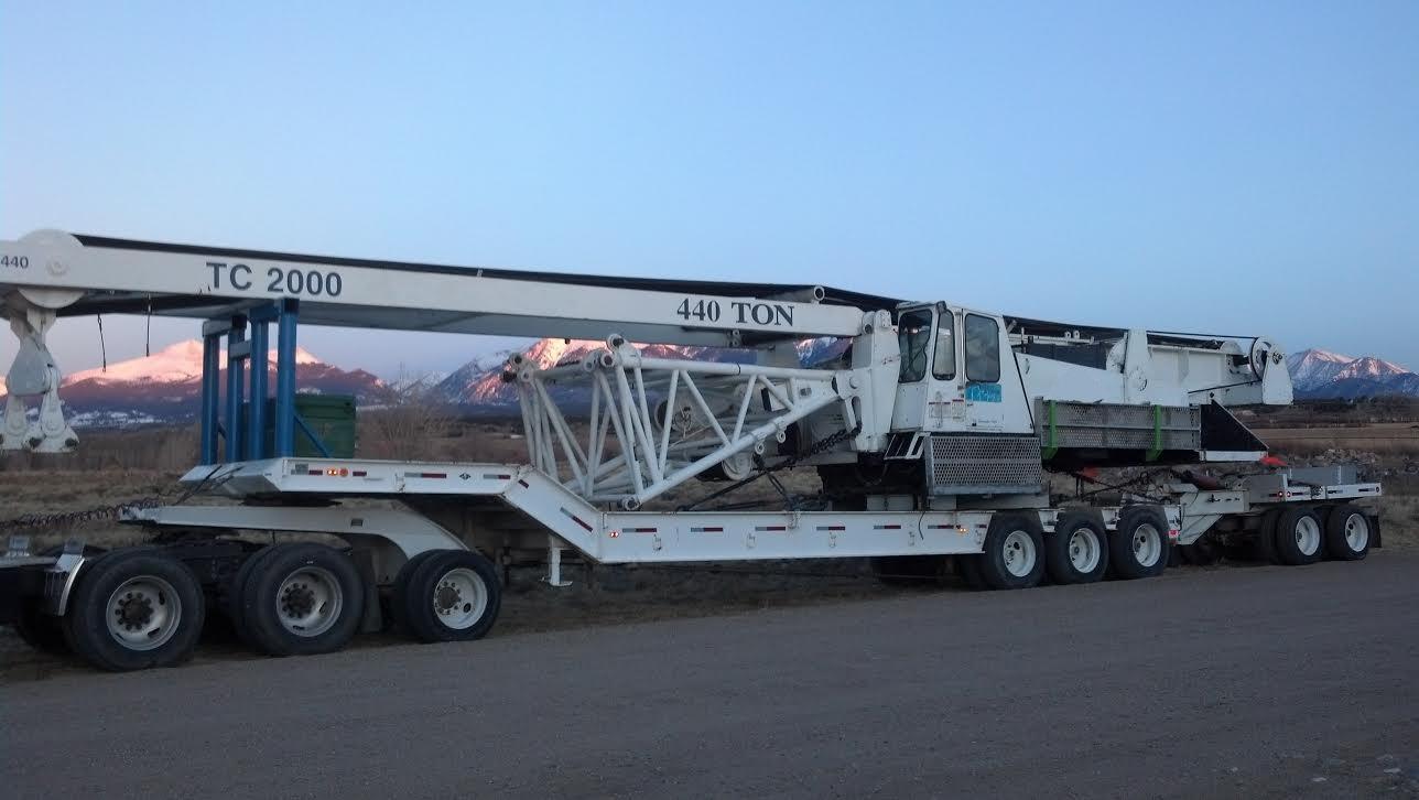 Conventional truck crane: Demag TC 2000 | RSS Cranes